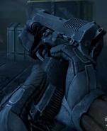 Recarga de la Pistola Ametralladora VP78