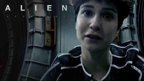 Alien Covenant Crew Messages Daniels 20th Century FOX