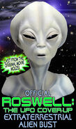 Roswell The UFO Cover Up Alien head bust