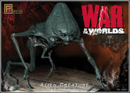 War of the Worlds 2005 Alien Creature kit