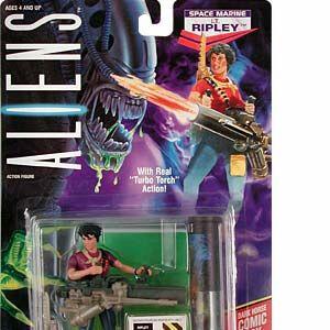 1994 Kenner ALIEN  Night Cougar Alien Action Figure.