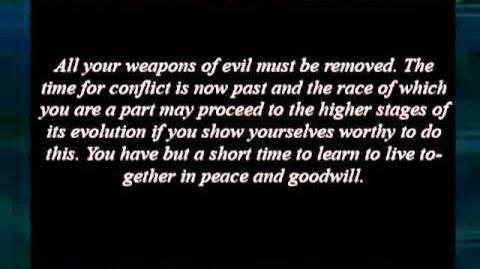 Original Vrillon message - 26 November 1977 at 5 10 PM - UK