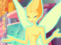 Orange Ethereal Fairy