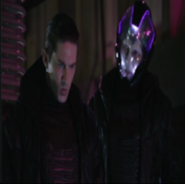 Eon (Omnitix) junto a Eon (Villano)
