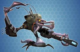 A Cragmite Hunter.