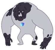 Invisible Gem Monster