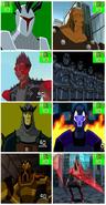 8 villanos de Ben 10