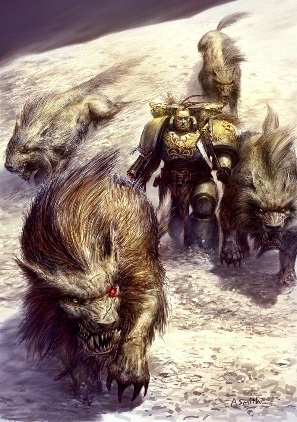Fenrisian Wolf