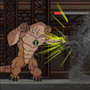 Humungosaurio en Swarm Smash