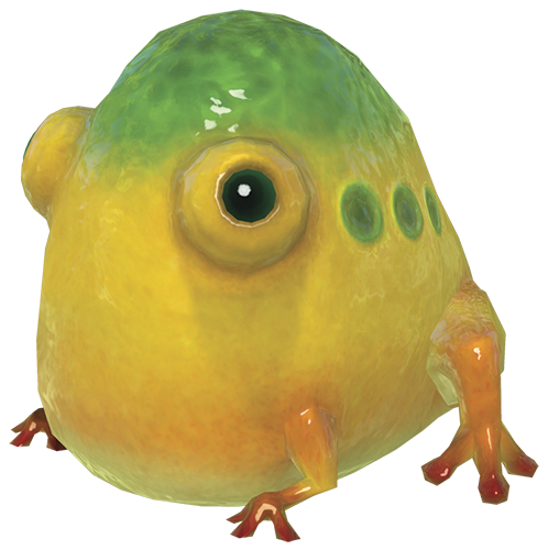 Yellow Wollywog