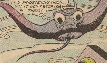 Martian Manta Monster