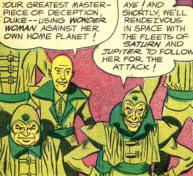 Yellow Martian (DC Comics)