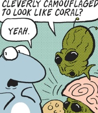 Alien (Sherman's Lagoon)