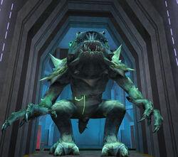 The Mutant Rancor.