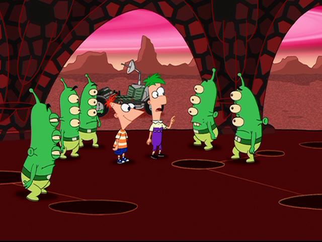 Martian (Phineas and Ferb)
