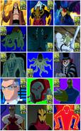 Todos los villanos de SA