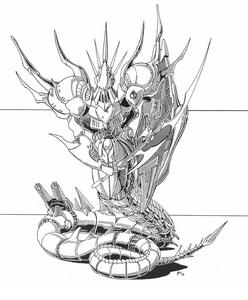 Serpent Power Armor (Rifts World Book, Atlantis)