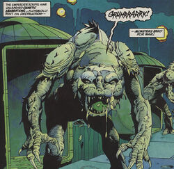 A Chrysalis Beast.