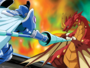 Dragonoid vs. Aquos Siege