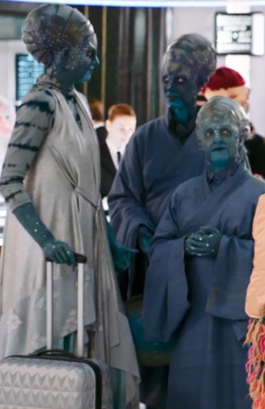 Unidentified Blue Humanoid (Men in Black: International)