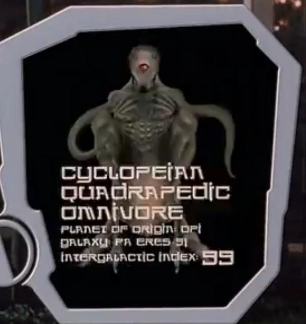 Cyclopeian Quadrapedic Omnivore