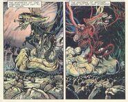 Alien Queen vs Queen