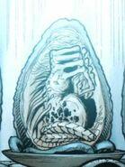 AVP-Comic Alien Queen Facehugger