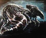 180px-James cameron - alien queen egg-sac 1
