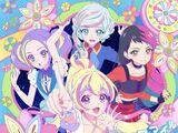 "TV Program/Data Carddass ""Aikatsu Planet!"" OP/ED Themes Single - Bloomy*Smile/Glittering☆Party♪ Time"