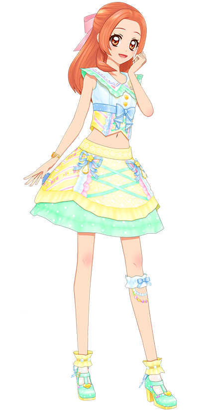 Clearness Yellow Coord