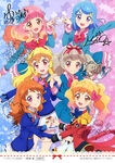 Aikatsu on Parade Illustrations
