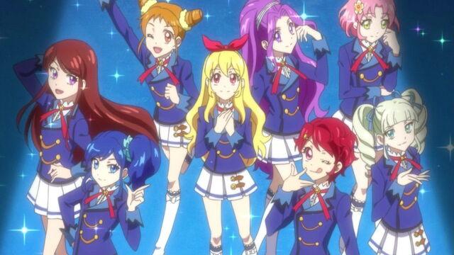 Chrismh/Aikatsu! School Uniform + or - ~Start~