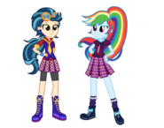 AU Indigo and Rainbow