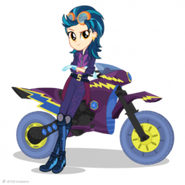Friendship Games Indigo Zap Sporty Style artwork
