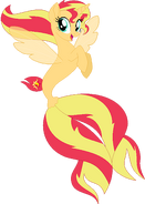 Sunset Shimmer Seapony
