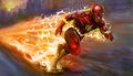 The-flash-running-artwork-5k-hd