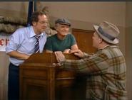 AITF 8x11 - Mitch tells Archie of plan to burn cross on the Stivics lawn