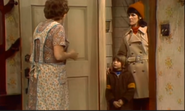 AITF 2x17 - Marilyn Sanders and son Danny at the door