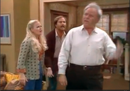 AITF 8x11 - Archie admits to attending KKK meeting to Gloria and Mike