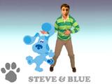 Steve & Blue