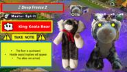 King Koala Bear Fixed Spirit