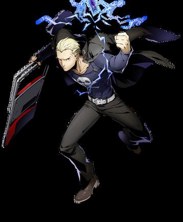 Kanji Tatsumi (BlazBlue Cross Tag Battle, Character Select Artwork).png