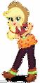 Applejack in her friendship games dress by superbobiann-dc0h5us