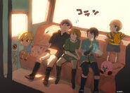 Jigglypuff toon link kirby marth link and etc the legend of zelda twilight princess and etc drawn by uichi sample-d16645cc7e8a38069b4630cf025532fe