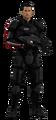 Commander shepard render by benoski-da2u24c
