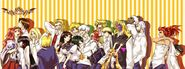Amakusa shirou tokisada kannabi no mikoto rashoujin mizuki rugal bernstein magaki and etc street fighter iii series and etc drawn by tobi discharge cycle sample-d59253f3ba736d53e6d971751367fc1b