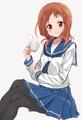 Takei hisa saki drawn by shisoneri 3bab187fb74bdded2225d8b920f8f0de