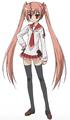 Aria H. Kanzaki Full Appearance