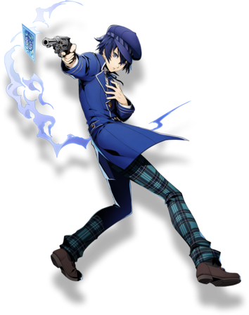 Naoto Shirogane (BlazBlue Cross Tag Battle, Character Select Artwork).png