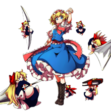 Alice margatroid hourai doll and shanghai doll touhou drawn by baba baba seimaijo 68033185a179060e88bf2972dcf3aceb.png